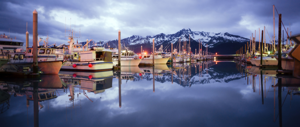 Fishing fleet in Ketchikan