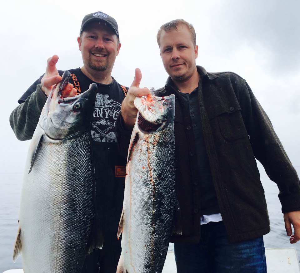 Two Guys with a Coho