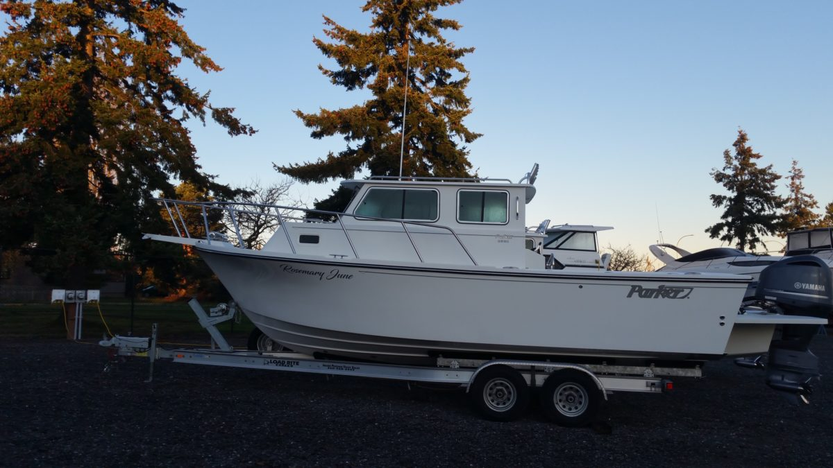 Brand new Parker charter fishing boat
