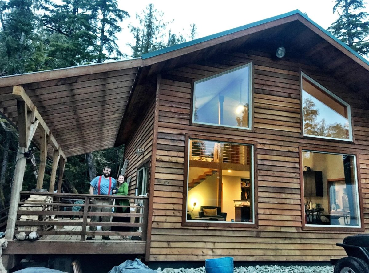 Man & wife cabin